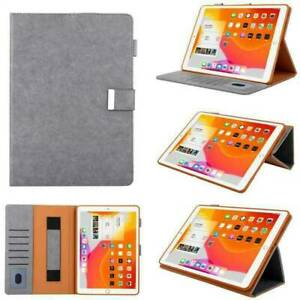 For iPad 5/6/7/8/9th 2021 Gen Mini Air Pro Leather Flip Magnetic back Case Cover
