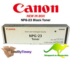 Genuine Canon NPG-23 Black Toner Cartridge New In Box with Free Shipping