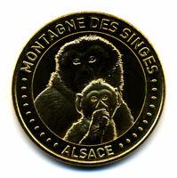 67 KINTZHEIM Montagne des singes 13, Mère et son petit 4, 2020, Monnaie de Paris