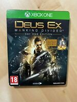 Deus Ex Mankind Divided - Xbox One (Steelbook Edition) NO GAME