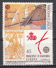 Briefmarken Europa Andorra (sp.. Post) CEPT ** 1992 Michel 226-227 Versand 0 EUR