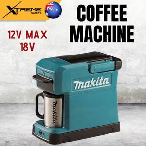New Makita 12V Max / 18V Coffee Machine, 240ml Tank with Dedicated Cup - Skin