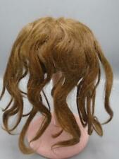 Antique Bisque Doll Wig Human Hair Brown #2