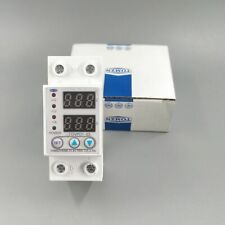 60A 230V Protector Relays Over And Under Voltage Protective Device Voltmeters