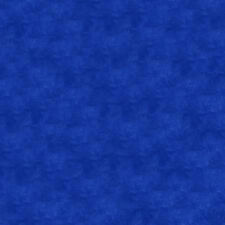 Quilt Backing Fabric 108 Inch Wide Cotton Blender Fabric Royal Blue - Per 1/4...