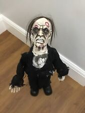 Halloween Zombie Man Party Prop Lights Sound Movement