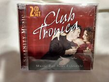 Club Tronica Music For Your Lifestyle Serenity Music 2 CD Set 2004        cd4902