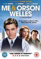 Me and Orson Welles DVD (2011) Ben Chaplin, Linklater (DIR) cert 12 ***NEW***