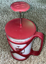 COFFEE PRESS, Primula Tempo, French Or American Style 6 Cup Red