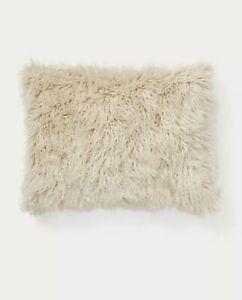 """Ralph Lauren Claredon Throw Pillow 15""""x 20"""" $255 Sand"""