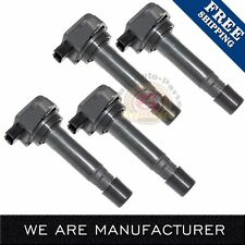 Set of 4 New Ignition Coil for 2006-2011 Honda Civic 1.8L C1580 UF-582