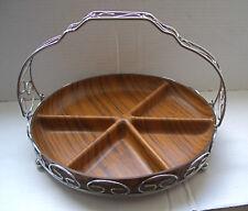 Vintage / Retro Wood Effect Snacks / Nibbles Tray