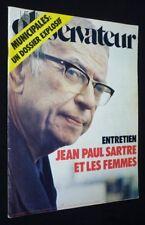Le Nouvel Observateur (n°638 - du 31 janvier au 6 février 1977) : Entretien :