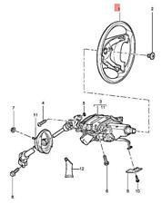 Genuine PORSCHE Cayenne Steering Wheel Olive Wood/Sand Beige 95534780461TXC