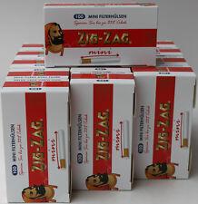15x100 Zig Zag Mini Hülse (1500) /Zigarettenhülse/Filterhülse *NEU