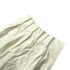 2 Vintage Pinch Pleat Drapes Curtains Luxury Window Treatments Cream Ivory HTF