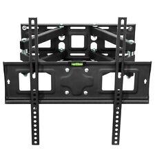 "SUPPORTO STAFFA PARETE MURO TV LCD TFT LED PLASMA 32-55"" 81-140cm VESA 400x400"