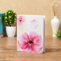 Travel Beach Holiday Flower Photo Album Flowers Design Holds Photos Gift G