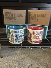 Starbucks 2018 LOS ANGELES & CalIfornia BEEN THERE Series Ceramic Mug 14 fl NEW