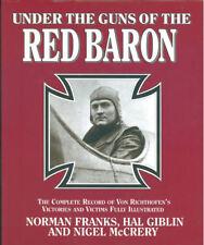 UNDER THE GUNS OF THE RED BARON WW1 MANFRED von RICHTHOFEN HBDJ ALBATROS FOKKER