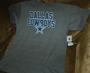 Dallas Cowboys t-shirt YOUTH XL 20 NEW WITH TAGS! NFL gray throwback Playoffs!