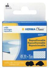 EK Success Herma Classic Dotto Refills Repositionable 15M Adhesive NEW