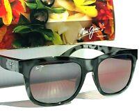 NEW* Maui Jim SNAPBACK Grey Tortoise POLARIZED Maui Rose Womens Sunglass R730-11