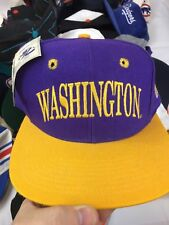 VTG The Game Washington huskies NCAA Snapback Hat Double Spell Out Logo's Rare