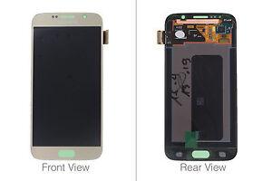Genuine Samsung Galaxy S6 G920 Gold LCD Screen & Digitizer - GH97-17260C