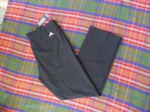 ADIDAS GOLF PANTS W34/L30 BLACK NWT $80.00 tech Stretch