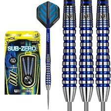23g Winmau Sub-Zero 80% Tungsten Darts, Prism Force Shafts & Alpha Flights