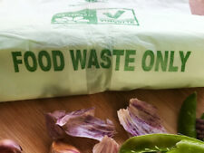 CADDY BAGS FOOD WASTE COMPOSTABLE CADDY LINER BIN BAGS - 6 ROLLS = 120 BAGS