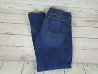 J Crew Blue Wash Skinny Fit Stretch Waist Women Jeans Size 30/28