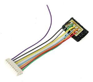 Train Control # 1036 C628 T Series DCC Decoder Harness w/8-Pin NMRA Plug HO MIB