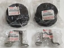 Suzuki SJ Samurai Rear Wheel Center Cap Hub Hubcaps + Holder Set New SGP Genuine