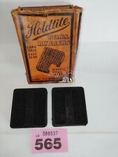 Vintage Classic Car Holdtite Pedal Rubbers X2 New Old Stock