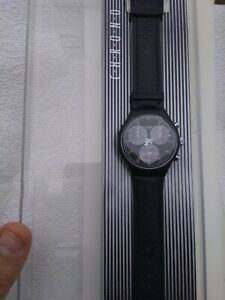 Swatch CHRONO WALL STREET SCB Nuovo mai usato - NEW Never used -FULLY WORKING