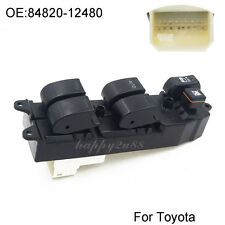 NEW Electric Master Power Window Switch For 2001-2009 Toyota RAV4 Camry Sienna