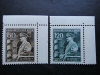 Germany Nazi 1944 Stamps MNH Adolf Hitler Swastika WWII Third Reich B&M German