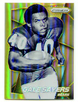 GALE SAYERS 2014 Panini Prizm Gold Holo Refractor Card HOF SP Chicago Bears 9/10