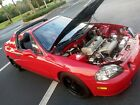 1994 Honda Civic del Sol DEL SOL SI 1994 Honda Civic del Sol Coupe Red FWD Manual DEL SOL SI