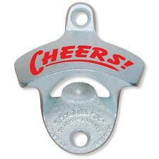 Cheers! Starr X ZINC PLATED Wall Mount Stationary Bottle Opener Zinc NEW GIFT
