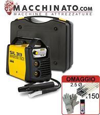 ✔️Saldatrice elettrodo inverter 130A Deca SIL 313 con KIT completo