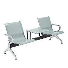 Salon Barber Airport Reception Waiting Room Porch Bench 2-Seat & 1-table set New
