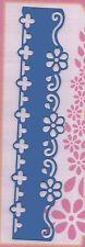 Crafts Too/Border/Beauty/Metal/Stencil/Emboss/Flower/Floral/B109B