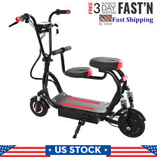 New Listing�Folding Rechargeable Seated Electric Scooter Motorized Rides On Outdoor Bicycle