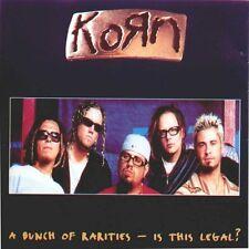 "CD KORN  ""A BUNCH OF RARITIES"", CD RARE!  19 TITRES, D'OCCASION, BON ETAT"