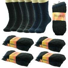THERMAL 6 Pairs For Mens Winter Warm Work Boots Wool Soft Crew Socks Size 9-13