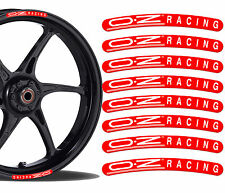 8 OZ Racing Rim Stickers Wheel Stripes Set Car Motorbike Motorcycle Tuning R11