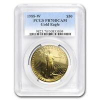 1988-W 1 oz Proof Gold American Eagle PR-70 PCGS - SKU #20801